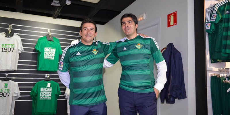 segunda equipacion Real Betis barata